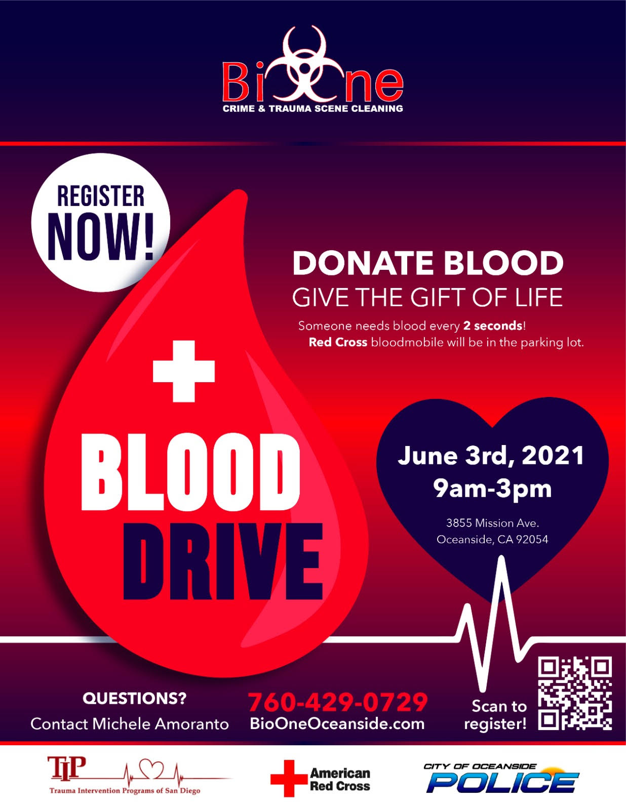 Join us in Our Blood Drive… Help Us save some Lives!